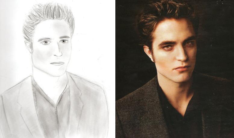My Edward Cullen Drawing Twilight Series Fan Art