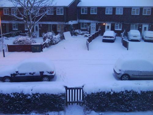 My Snowy Road :)
