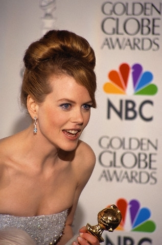 Nicole Kidman Golden Globe Award Best Actress for To Die For