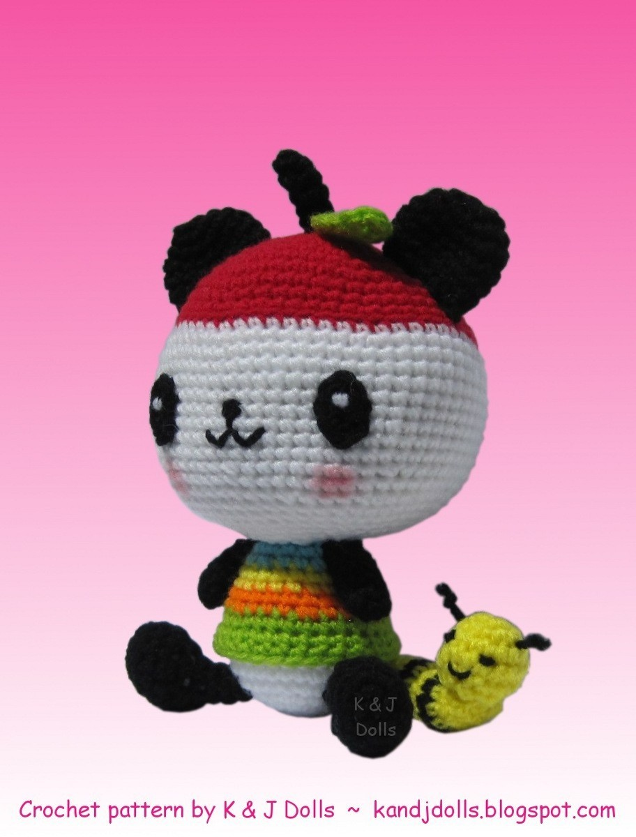 Pandapple crocheted doll - Sanrio Photo (12824110) - Fanpop