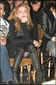 Photos Of The Day: Madonna at Jean Paul Gaultier Fashion show in Paris