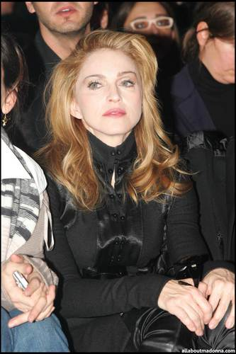 foto Of The Day: Madonna at Jean Paul Gaultier Fashion mostra in Paris