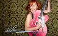 Pink Guitar - reba-mcentire wallpaper