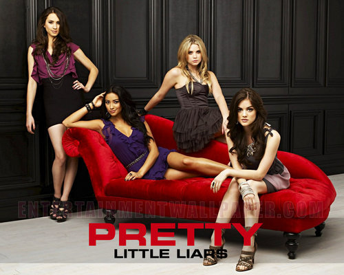 Pretty Little Liars TV toon achtergrond titled Pretty Little Liars