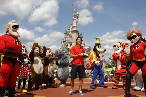 Rafa in Disneyland Paris
