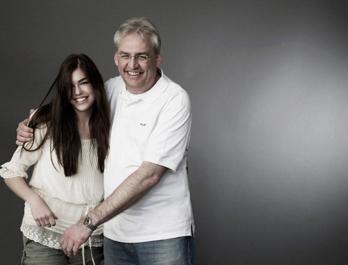Raina & her dad