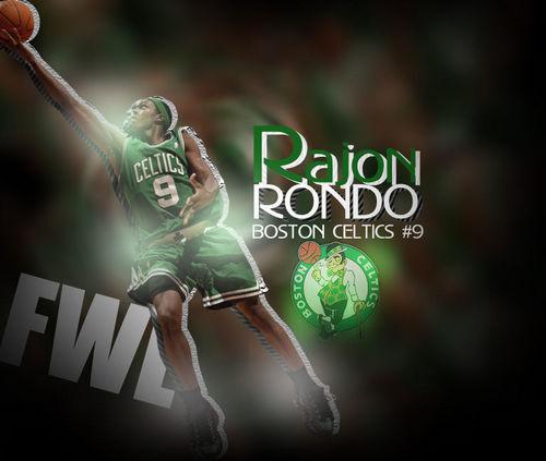 Rajon Rondo Hintergrund titled Rajon