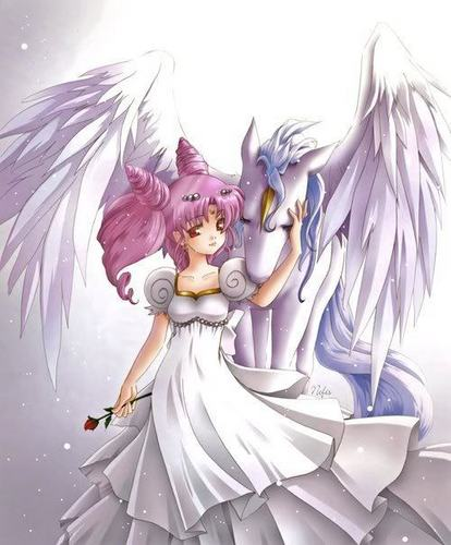 Rini and pegasus