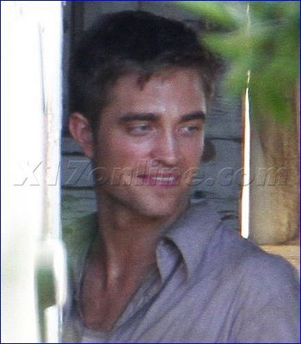 Rob @ 'Water for Elephants' set [June 7th]