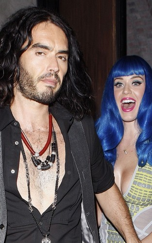 Russell Brand and Katy Perry at the MTV Movie Awards afterparty (June 6)