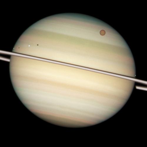 o espaço wallpaper titled Saturn