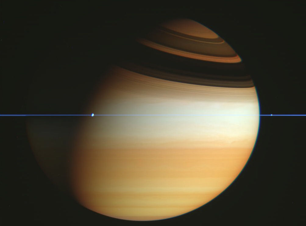 Space saturn