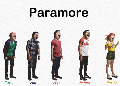 Screaming Paramore