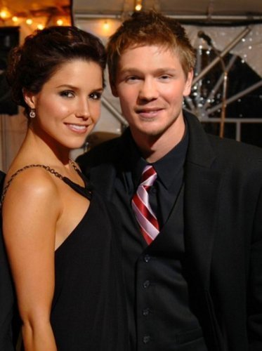 Sophia and Chad Michael Murray