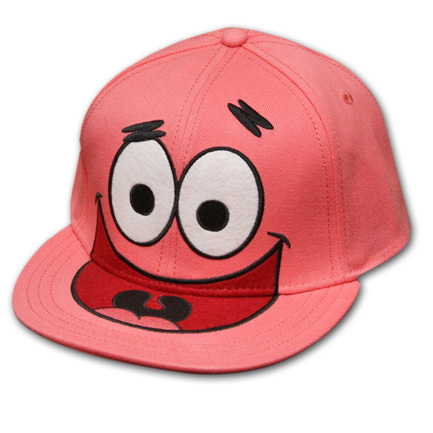 Spongebob Squarepants kertas dinding called Spongebob Squarepants Patrick Hat