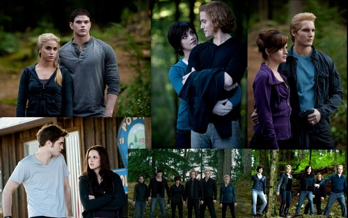 The Cullen Family Eclipse 壁纸 (Bigger)