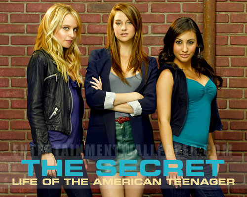 The Secret Life of the American Teenager wallpaper titled The Girls