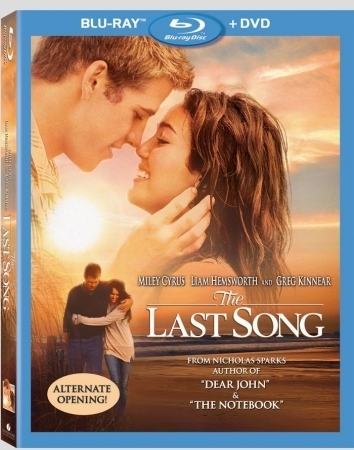 The Last Song DVD Blu-ray Combo Pack