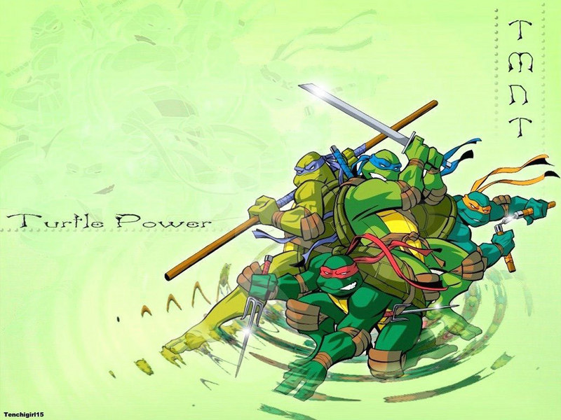 tmnt wallpaper. Turtle Power - TMNT Wallpaper