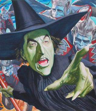 Wicked Witch Portrait
