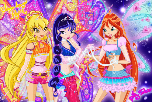 the winx club wallpaper entitled Winx Club
