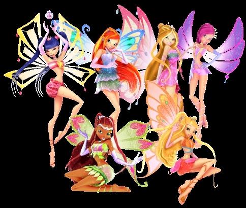 Winx Enchantix 3-D