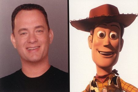 Woody & Tom Hanks