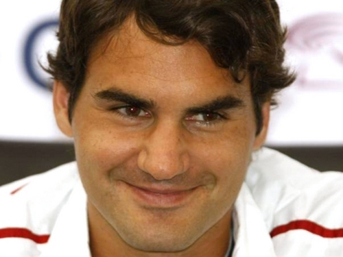 federer face - roger-federer Wallpaper