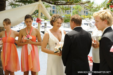 h2O wedding