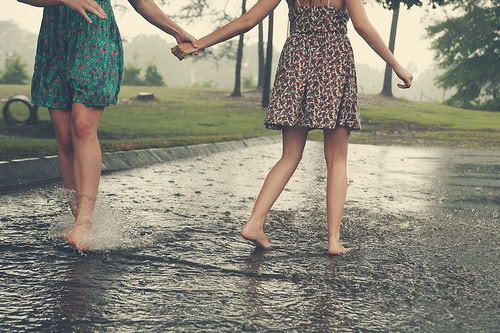 i wanna be with آپ when it rains