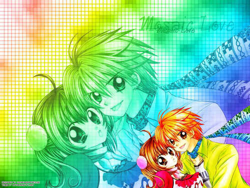 Pichi Pichi Pitch-mermaid melody wallpaper titled kiato/luchia