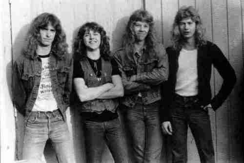 metallica wit hair
