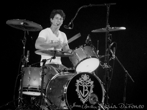 nick j on the drums
