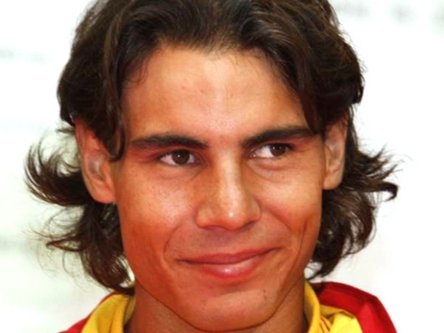 Tennis wallpaper titled rafael nadal face