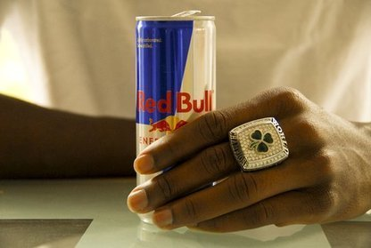 red bull and champion ring :)