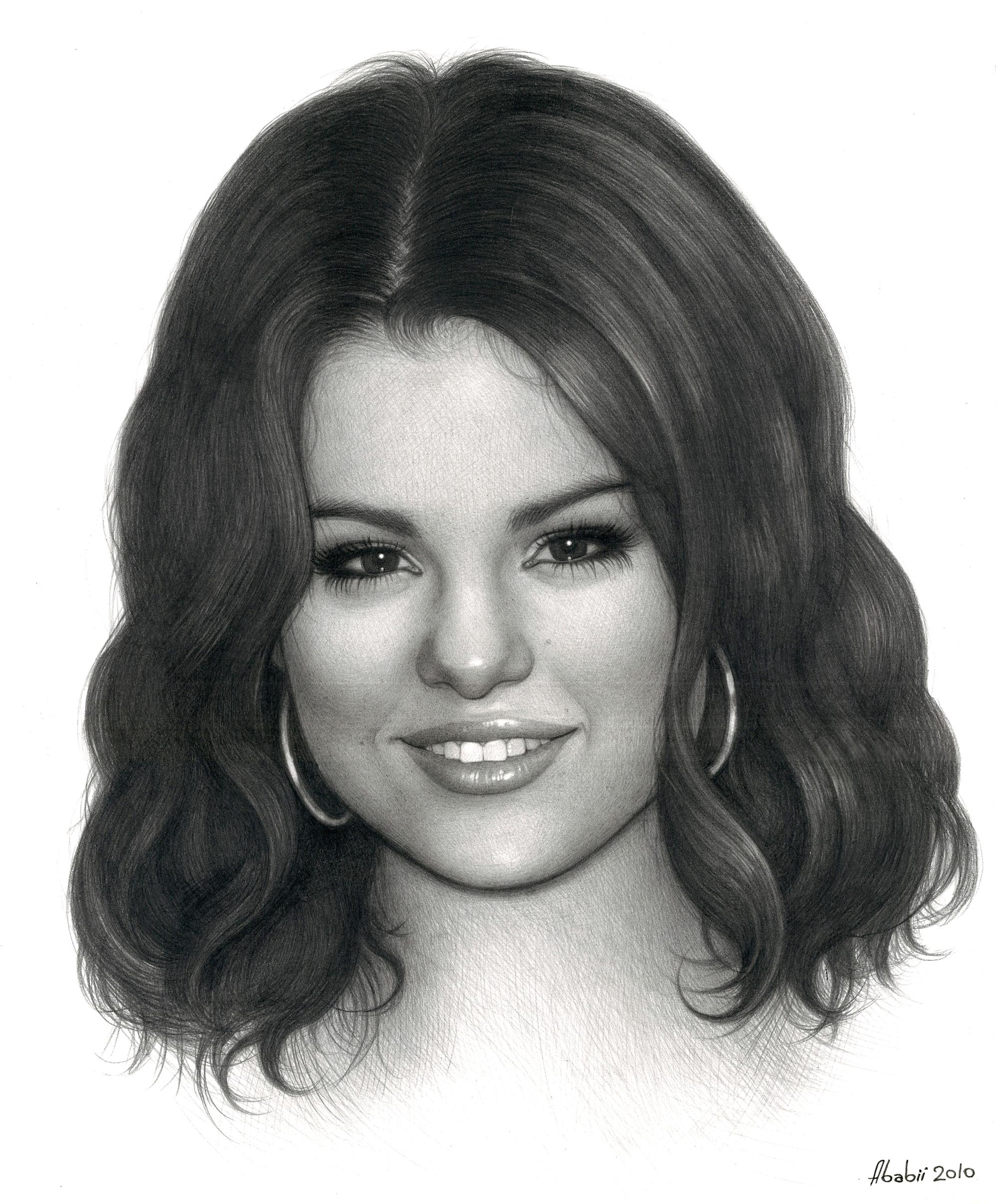 Selena art 3 selena gomez fan art 12826088 fanpop - Selena gomez dessin ...
