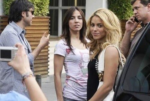 Shakira nad verdasco tapasl