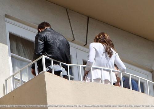 'Eclipse' Stars: Balcony Break
