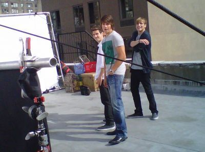 June 11, 2010 - Big Time Rush Poses for Popstar! Magazine