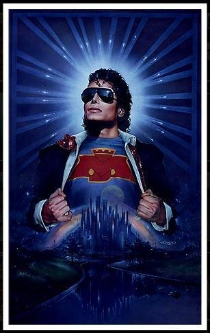 * THE SUPER HERO MICHAEL *