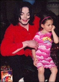 Paris Jackson kertas dinding entitled 010. Private foto-foto > 2003 > Birthday from Prince