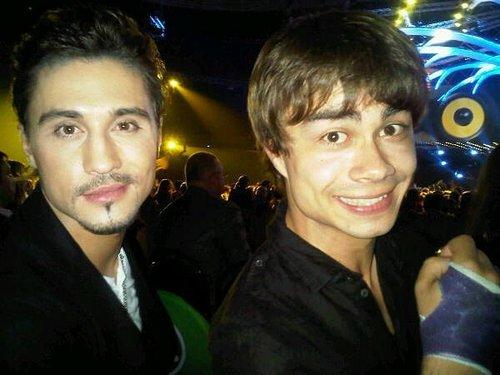 Alex and Dima Bilan
