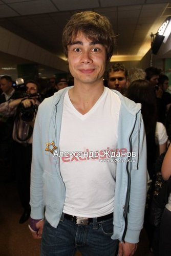 Alex on Premia MUZ TV 2010 awards:))