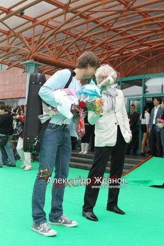 Alex on Premia MUZ TV 2010 awards:))