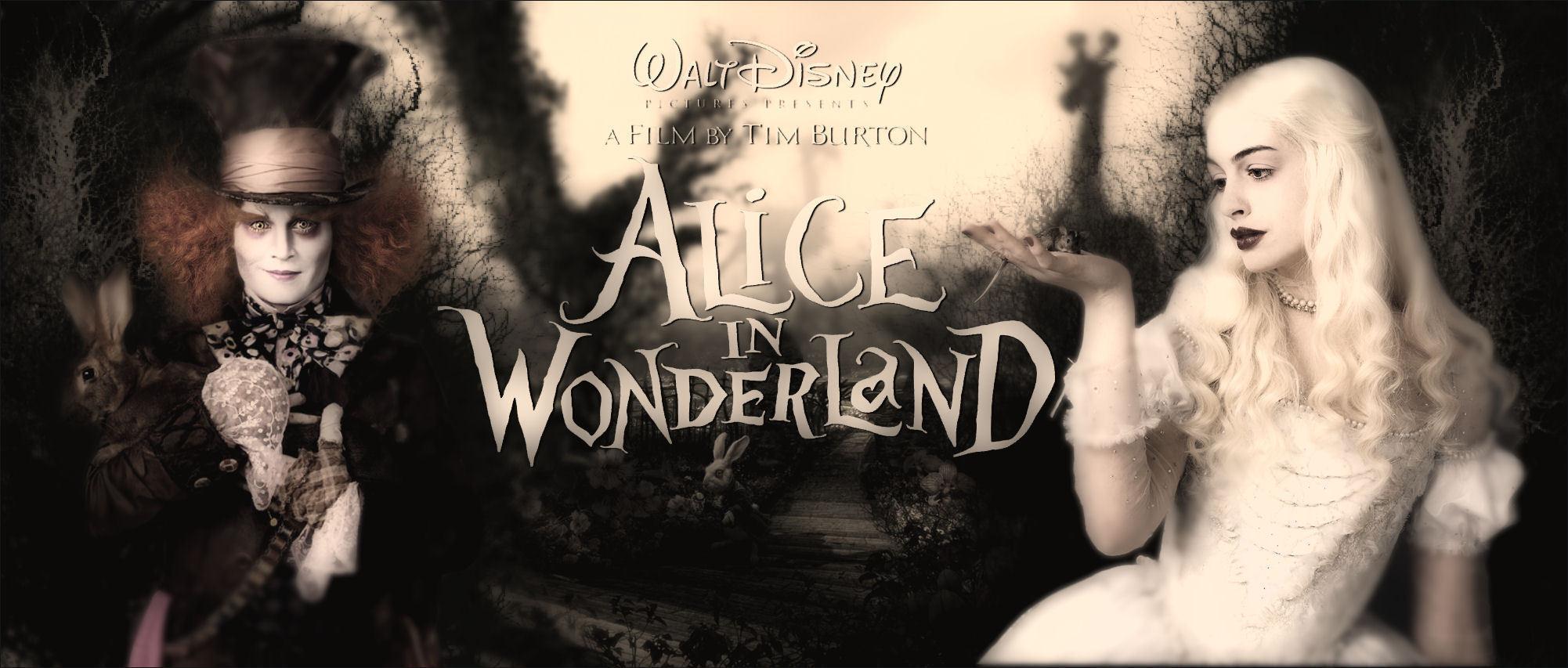 Alice wonderland movie 2010
