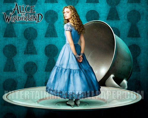 Alice in Wonderland (2010) wallpaper entitled Alice in Wonderland