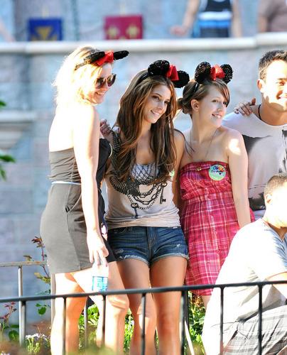 Ashley Greene in Disneyland
