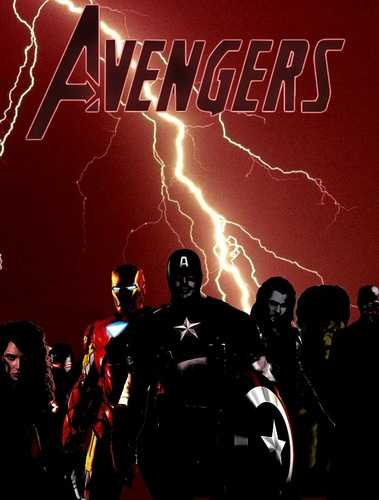 The Avengers wallpaper entitled Avengers #1