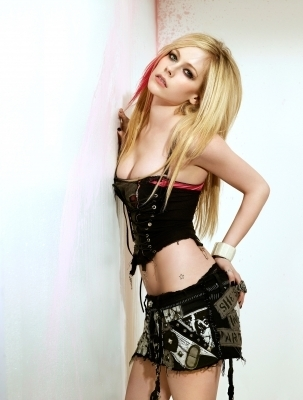Avril Lavigne Maxim Magazine Photoshoot