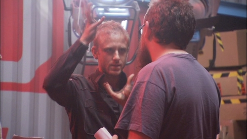 Ben in Pandorum featurette - ben-foster Screencap